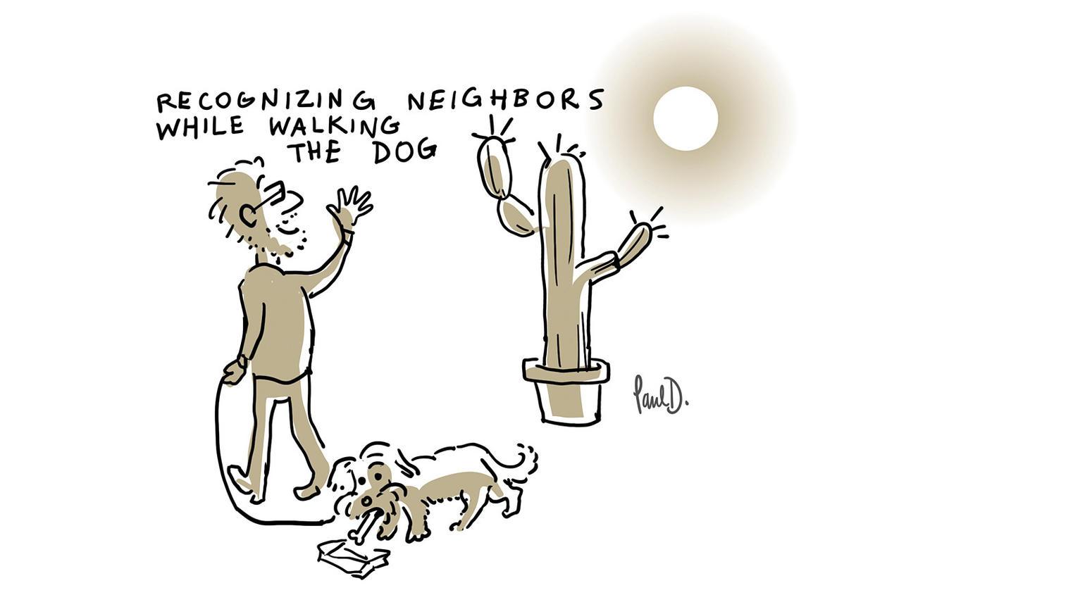 A cartoon by Paul Demeyer.