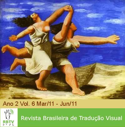 Capa da Revista Brasileira de Tradução Visual